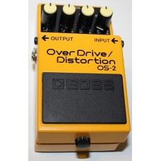 BOSS OS-2 OverDrive / Distortion Effects Pedal