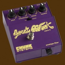 Chunk Systems Agent 00Funk Mk II Bass Envelope Filter Pedal