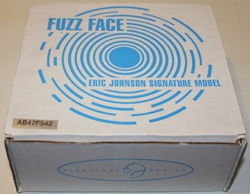 Dunlop EJF1 Eric Johnson Signature Fuzz Face Distortion Pedal