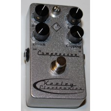 Keeley Electronics Effects Pedal, 4 Knob Compressor