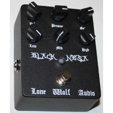 Lone Wolf Audio Effects Pedal, Black Mesa ultra high gain distortion
