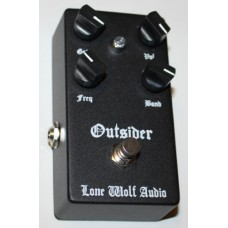 Lone Wolf Audio Effects Pedal, Outsider Lead Boost Sub harmonic Energizer