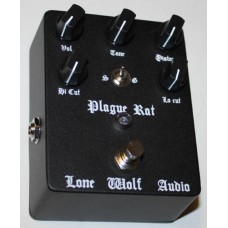 Lone Wolf Audio Effects Pedal, Plague Rat distortion