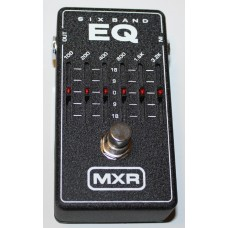 MXR Effect Pedal, 6-Band Graphic EQ M109