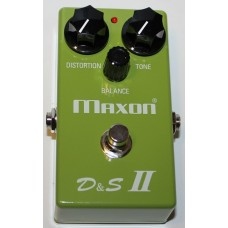 MAXON (D&S II) DISTORTION & SUSTAINER II Pedal