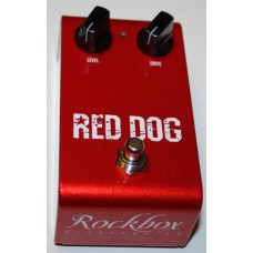 Rockbox Red Dog Overdrive / Distortion Effects Pedal