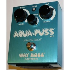 Way Huge Aqua Puss Analog Delay Pedal, WHE701
