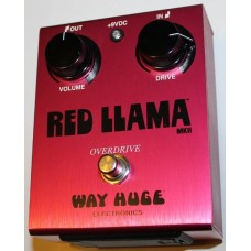 Way Huge Red Llama Overdrive Pedal, WHE203