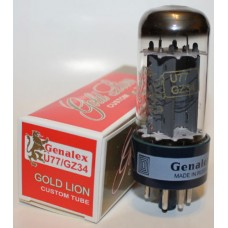 Genelax Gold Lion U77 / GZ34 rectifier tubes