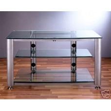 VTI HGR403 Glass A/V TV Stand, Brand New, Free Ship!