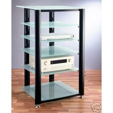 VTI HGR406 Glass AudioPhile Rack, Brand New, Free Ship!