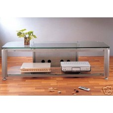 VTI HGR60 Glass A/V TV Stand, Brand New, Free Ship!